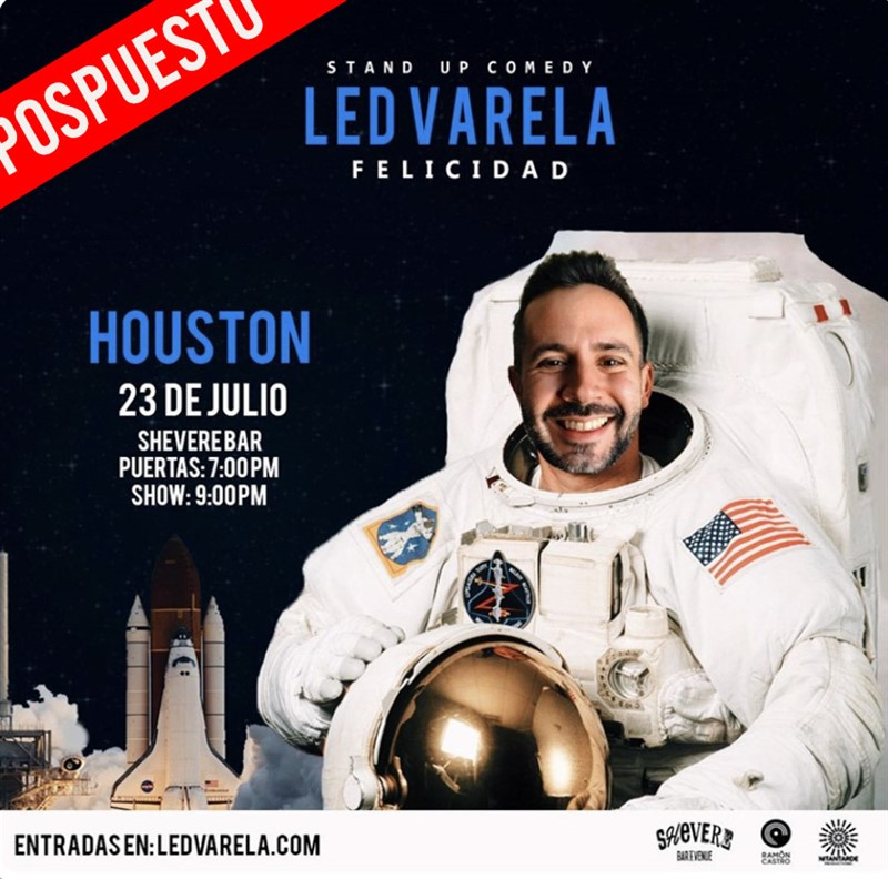 Get Information and buy tickets to Led Valera - Felicidad - Stand Up Comedy - Houston Reg $25 - Vip $35 on www.click-event.com