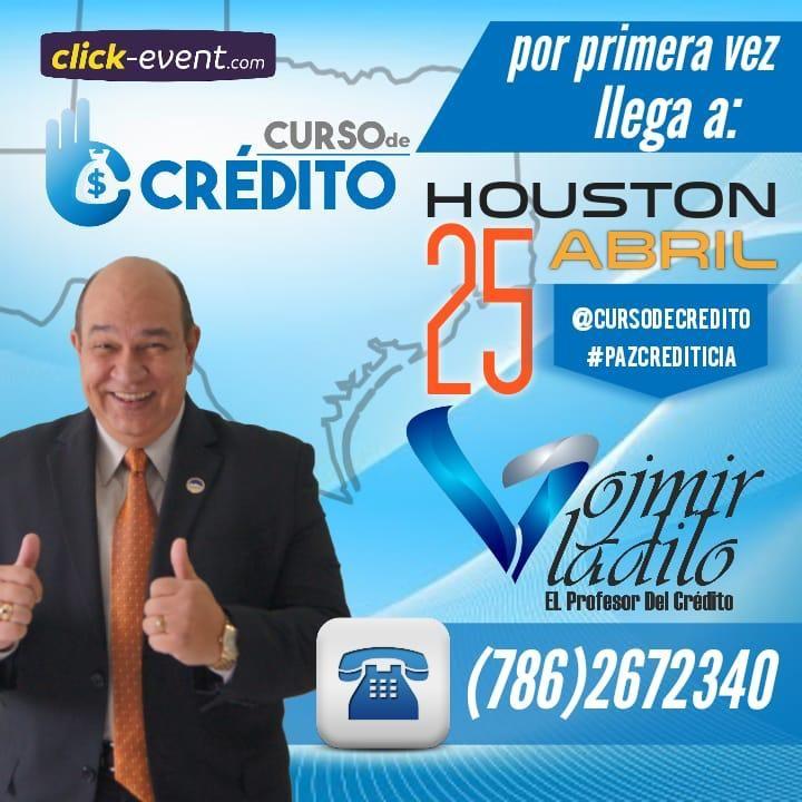 Get Information and buy tickets to Curso de Cretito - El Profesor del Credito Vladilo Vojmir Preventa Reg $220 - Parejas $200 (hasta 321 Marzo) on www.click-event.com