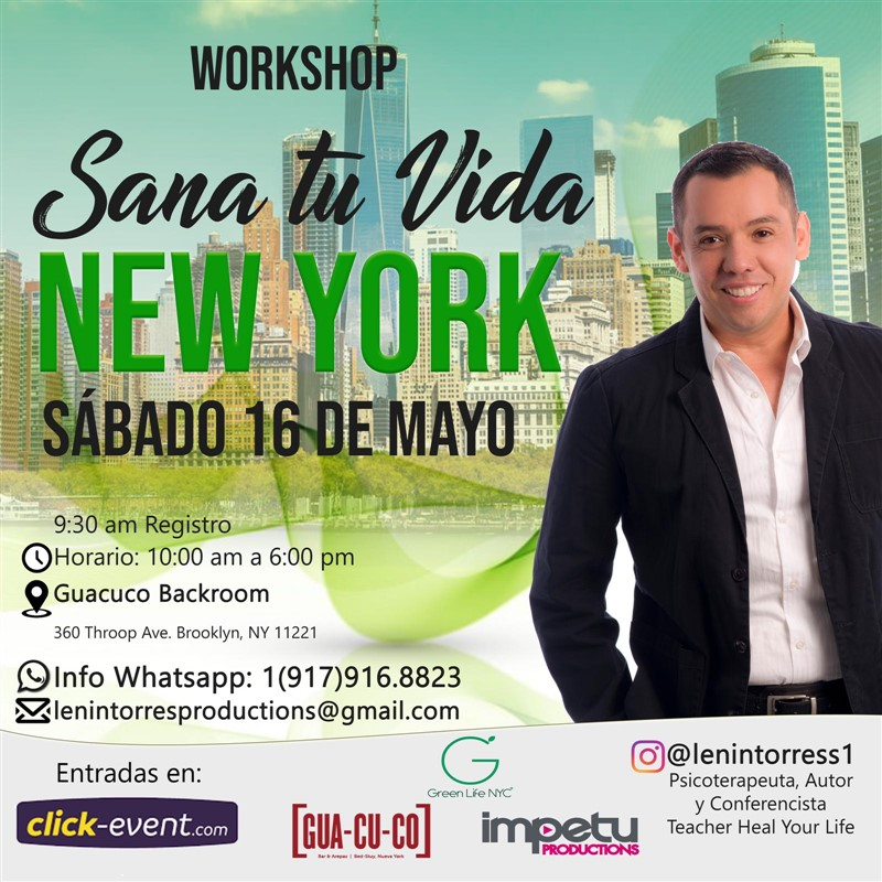 Get Information and buy tickets to Sana tu Vida - New York  on www.click-event.com