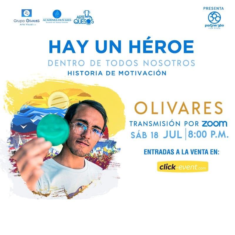Get Information and buy tickets to Hay un Héroe dentro de todos nosotros - Olivares Reg $8 on www.click-event.com