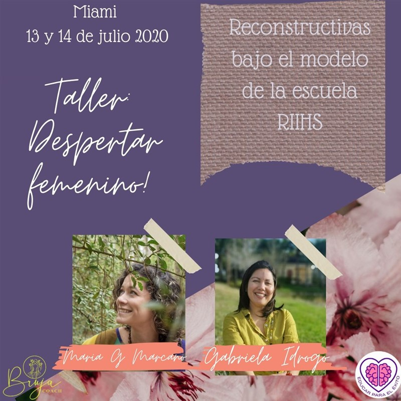 Get Information and buy tickets to Taller Despertar femenino  on www.click-event.com
