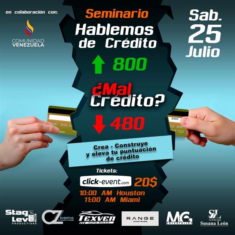 Get Information and buy tickets to Seminario Hablemos de Crédito - Susana Leon, Range Mortgage, Reg $20 on www.click-event.com