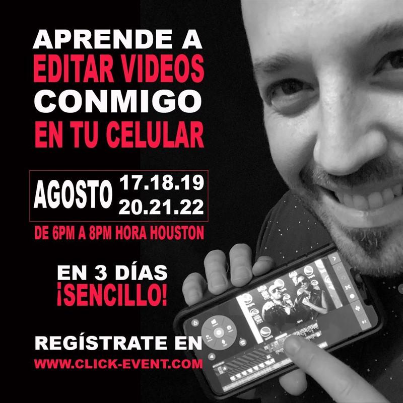 Aprende a editar videos en tu celular - Ramón Castro,