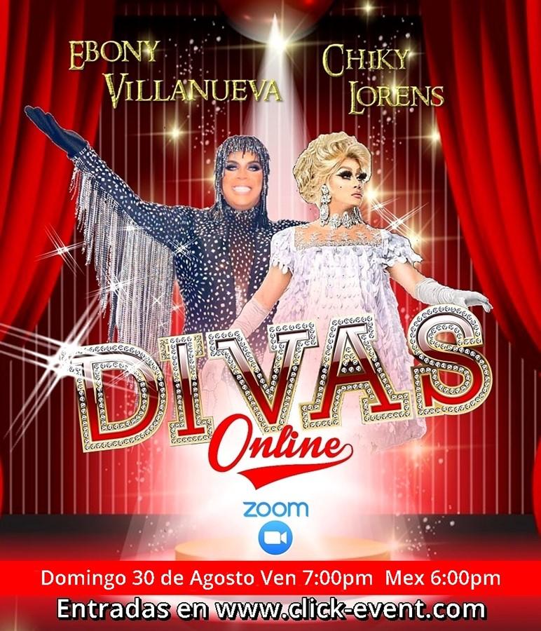 Get Information and buy tickets to Divas Online -  Ebony Villanueva - Chiky Lorens Reg $5 on www.click-event.com