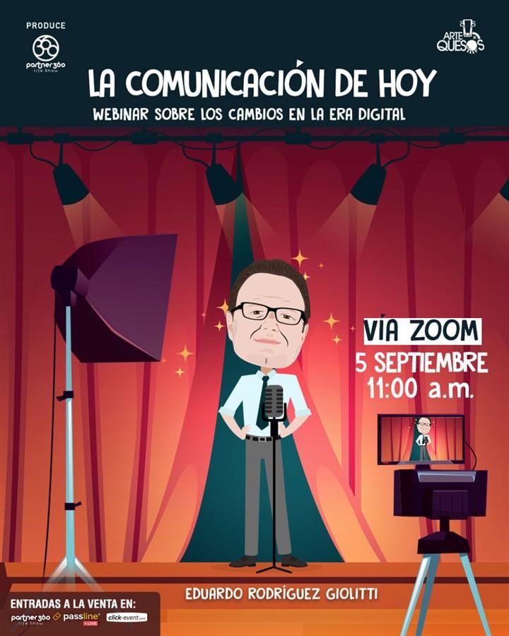 Get Information and buy tickets to La Comunicación de Hoy - Eduardo Rodriguez Reg $10 on www.click-event.com