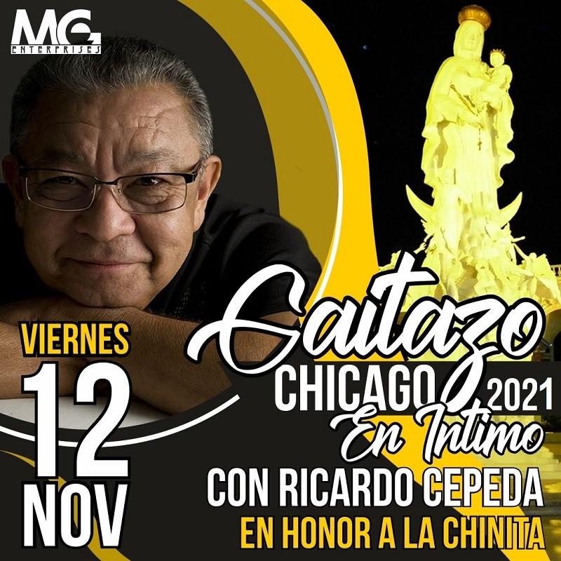 Obtener información y comprar entradas para Gaitazo 2021 en honor a la Chinita - Ricardo Cepeda Preventa - Reg $60 en www.click-event.com.