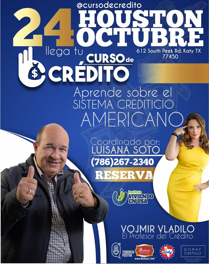 Get Information and buy tickets to Curso de Crédito - Vojmir Vladilo Reg $ 300 on www.click-event.com