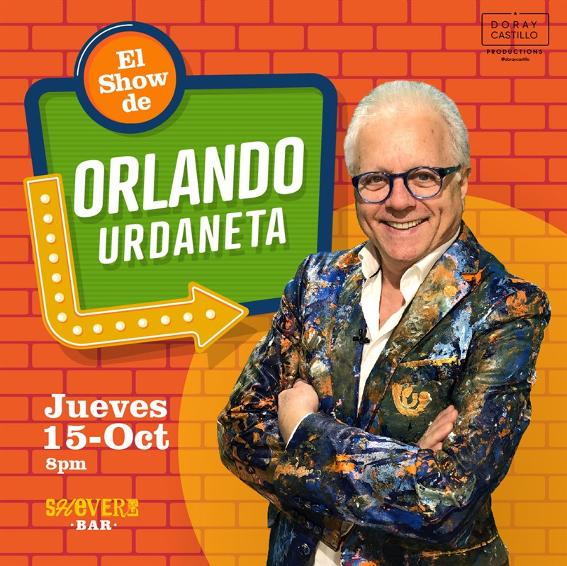 Get Information and buy tickets to El Show de Orlando Urdaneta Reg $20  - Vip $40 on www.click-event.com