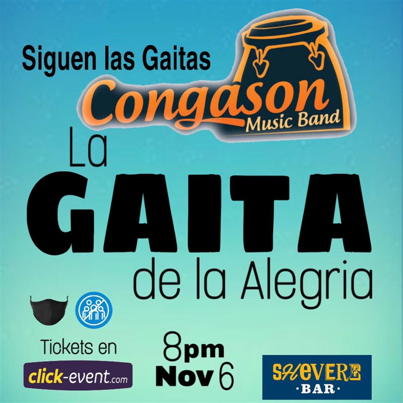 Get Information and buy tickets to La Gaita de la Alegria - siguen las gaitas Congason Reg $10 on www.click-event.com
