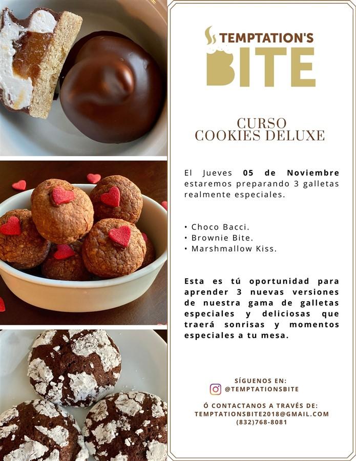 Obtener información y comprar entradas para Curso de Cookies Deluxe Reg $30 en www.click-event.com.