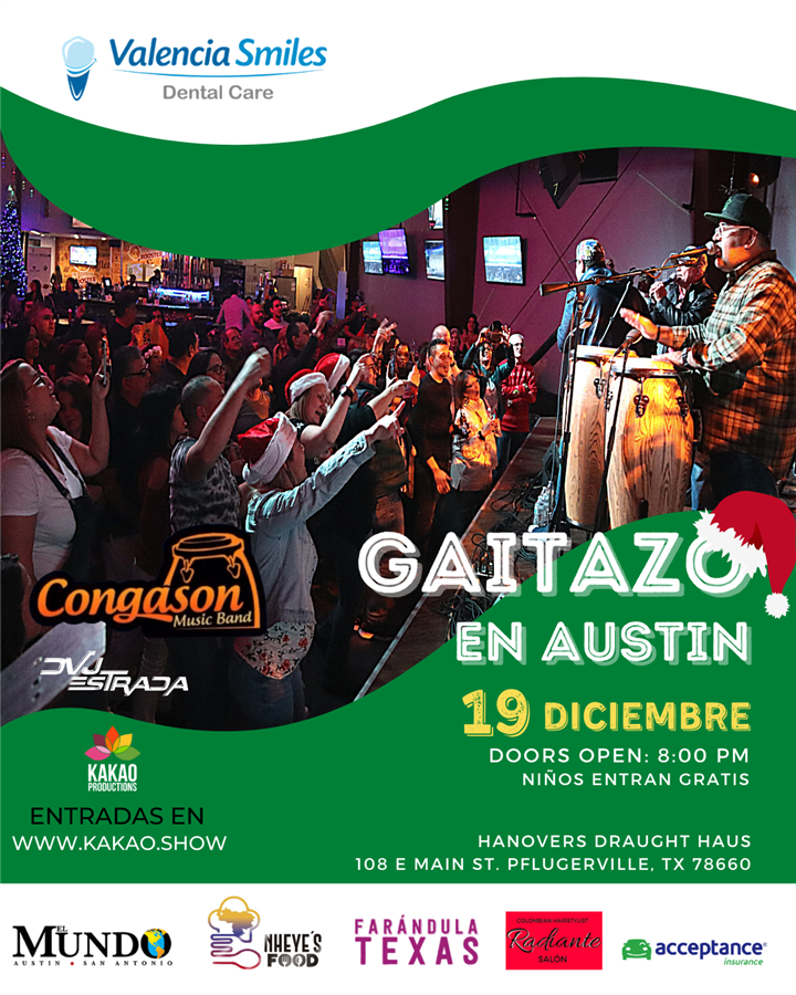 Get Information and buy tickets to GAITAZO AUSTIN  on www.click-event.com