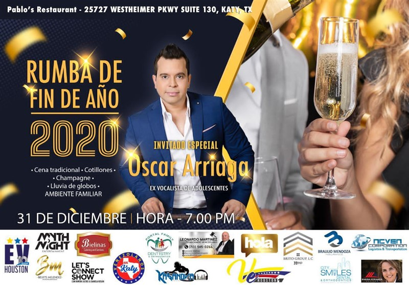 Get Information and buy tickets to Rumba de Fin de Año Reg $55 - Cena $85 on www.click-event.com