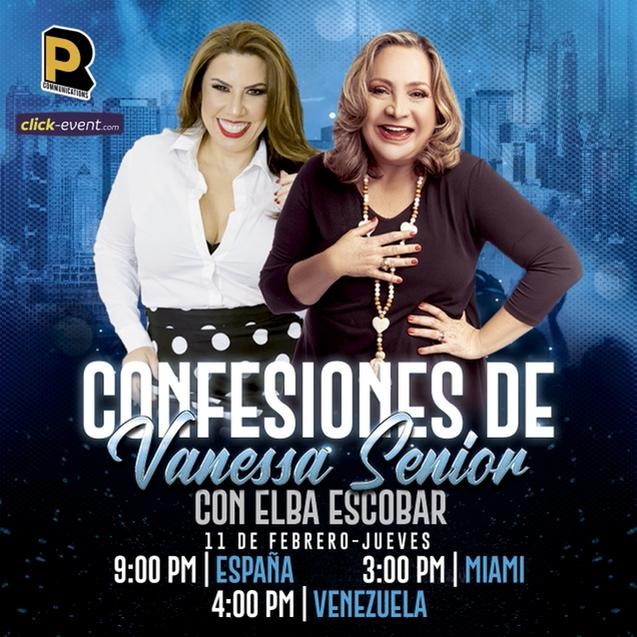 Get Information and buy tickets to Confeciones de Vanessa Senior con Elba Escobar Reg $15 on www.click-event.com