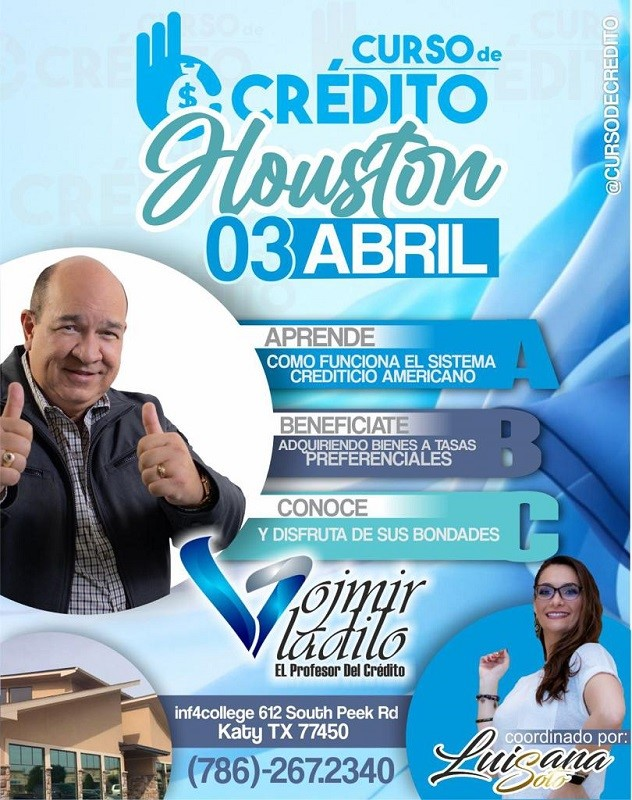 Get Information and buy tickets to Curso de Crédito con Vojmir Vladilo Preventa Reg $300 - Reg $350 on www.click-event.com