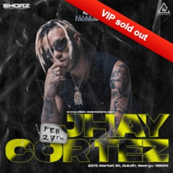 Get Information and buy tickets to Jhay Cortez VIP SOLD OUT - Gen $60 on www.click-event.com