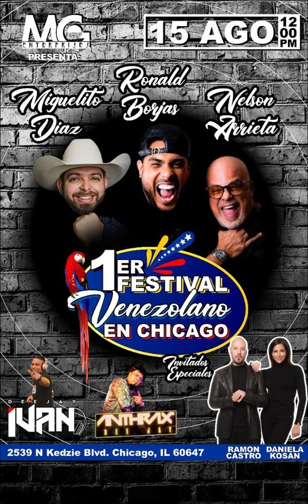 1er Festival Venezolano en Chicago
