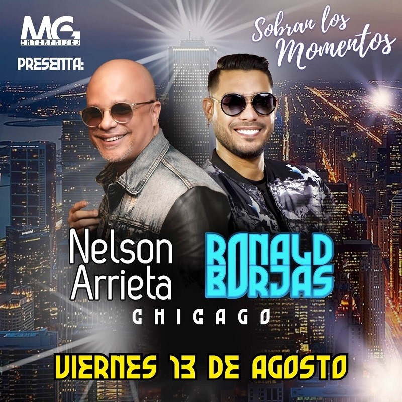Get Information and buy tickets to Sobran los Momentos - Nelson Arrieta - Ronald Borjas Preventa - Reg $60 on www.click-event.com