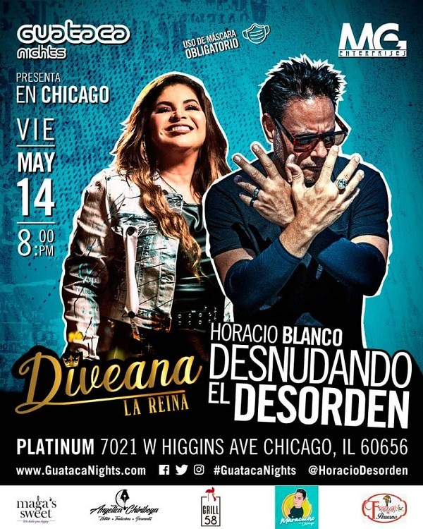 Get Information and buy tickets to Divena - Horacio Blanco Reg $50 - 2 X $90 on www.click-event.com