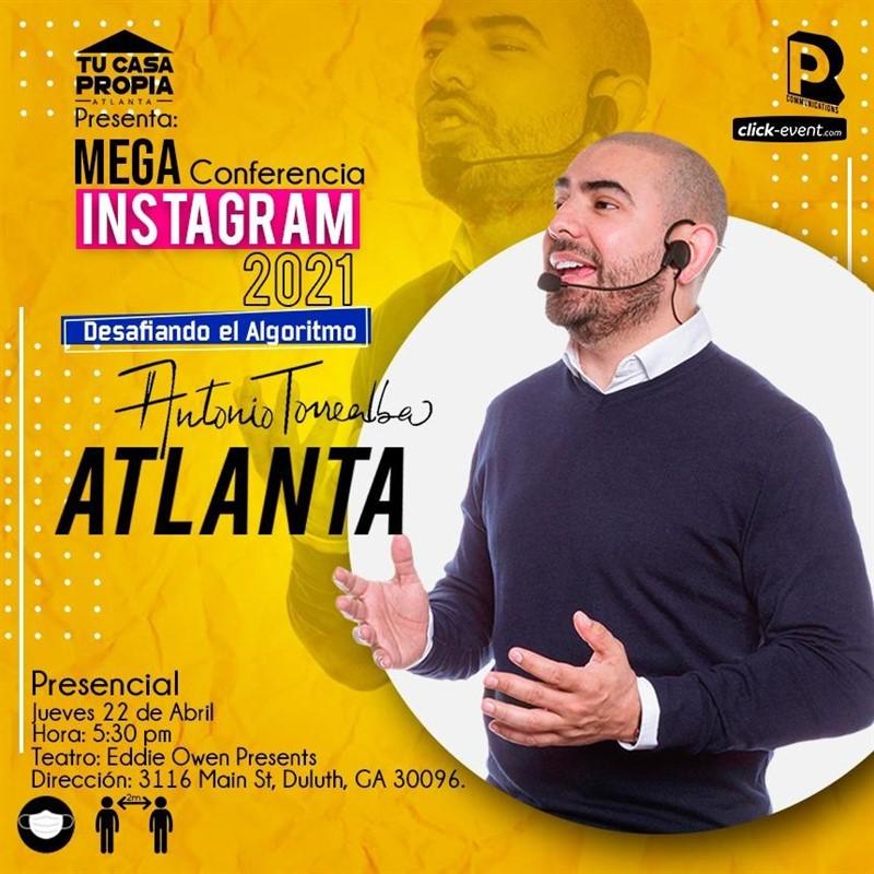 Get Information and buy tickets to Mega Conferencia de INSTAGRAM 2021 - AntonioTorrealba Reg $40 on www.click-event.com