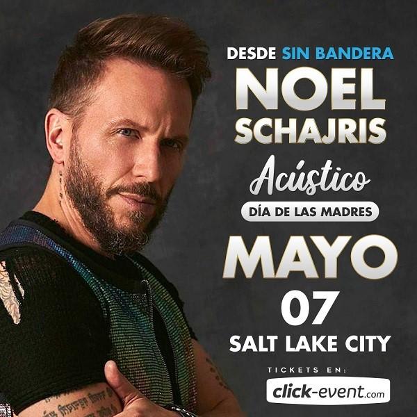 Obtener información y comprar entradas para Noel Schajris - desde Sin Bandera - Salt lake City, UT Preventa Limitada en www.click-event.com.