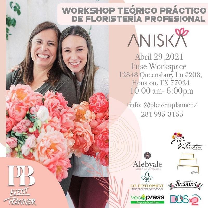 Get Information and buy tickets to Workshop Teórico Práctico de Floristeria Profesional Preventa (hasta Abril 17) $590 on www.click-event.com
