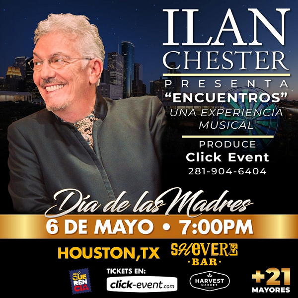 """Get Information and buy tickets to Ilan Chester - """"Encuentros"""" Una experiencia Musical - Houston TX Preventa - Reg $45 - Vip $75 on www.click-event.com"""