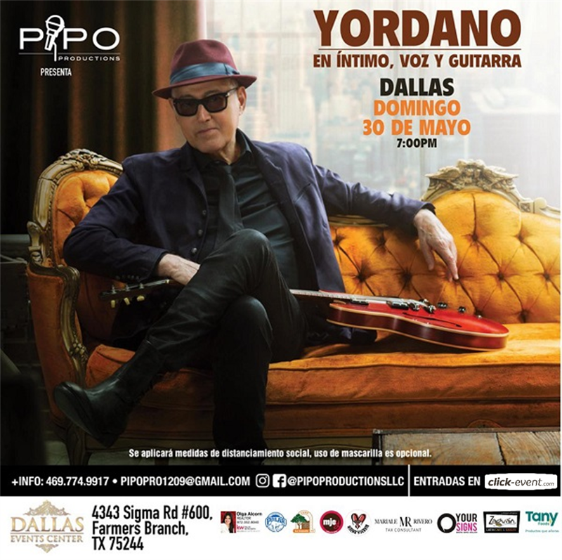 Yordano Guitarra y Voz - Dallas TX