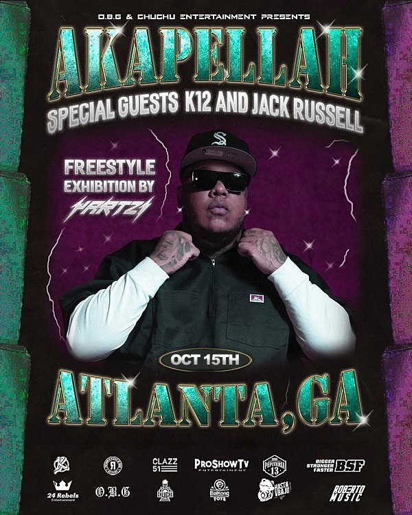 Akapella with K12 & Jack Russell - Atlanta GA