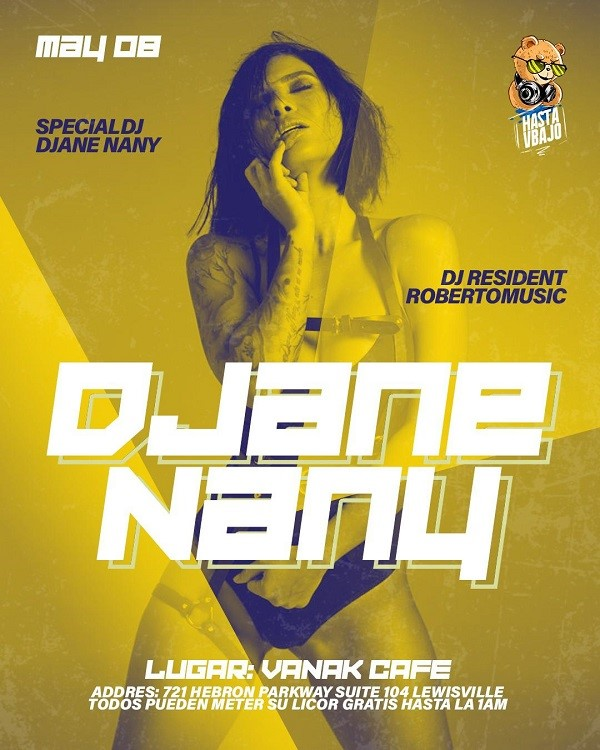 Get Information and buy tickets to DJ Ane Nany  on www.click-event.com