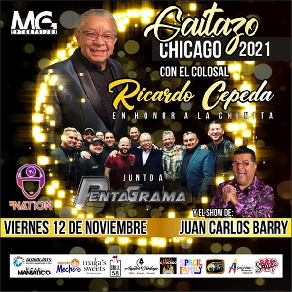 Gaitazo 2021 en honor a la Chinita - Ricardo Cepeda - Chicago IL