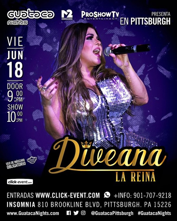 Get Information and buy tickets to Diveana la Reina  on www.click-event.com