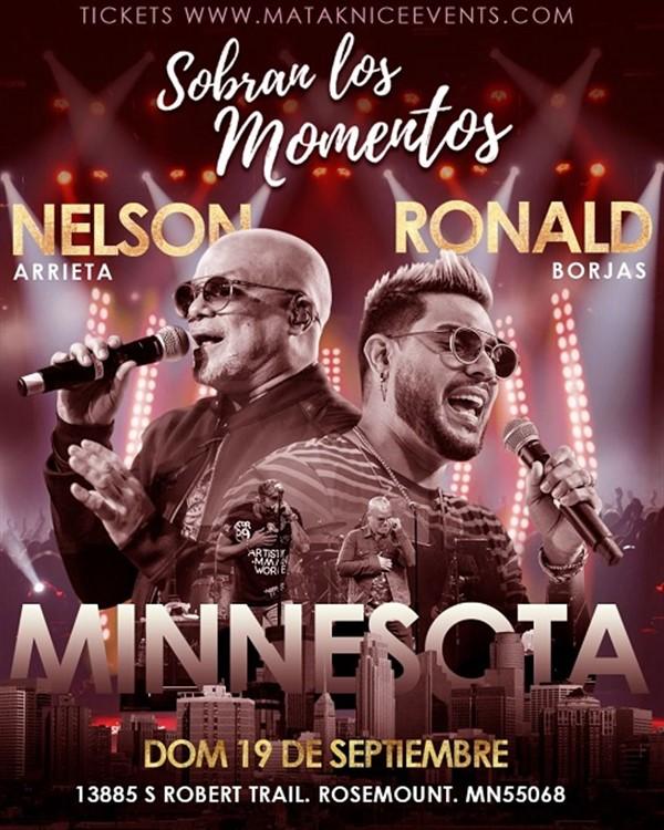 Get Information and buy tickets to Sobran los Momentos - Nelson Arrieta - Ronald Borjas - Saint Paul MN Por primera vez en Minnesota...! on www.click-event.com