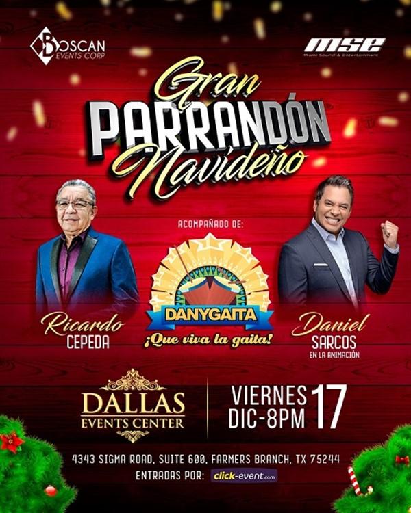 Ricardo Cepeda, Danygaita, Animación Daniel Sarcos - Dallas TX