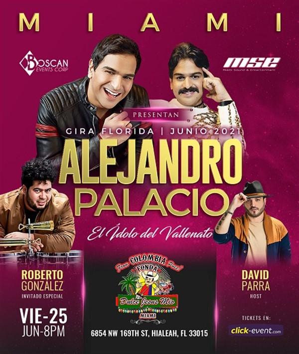 """Get Information and buy tickets to Alejandro Palacio """"El Idolo del Vallenato"""" - Miami FL  on www.click-event.com"""