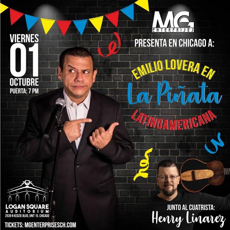 Emilio Lovera - Piñata Latinoamérica - Chicago IL