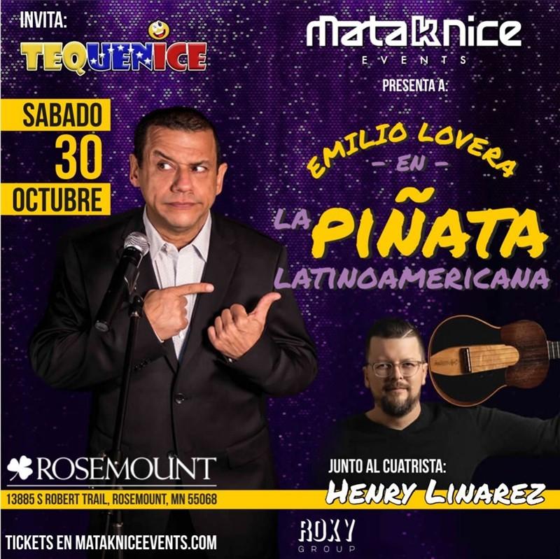 Emilio Lovera - La Piñata Latinoamérica - Minnesota MN