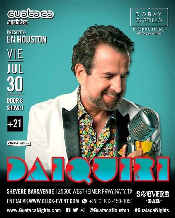 Get Information and buy tickets to Daiquiri - Katy TX  on www.click-event.com