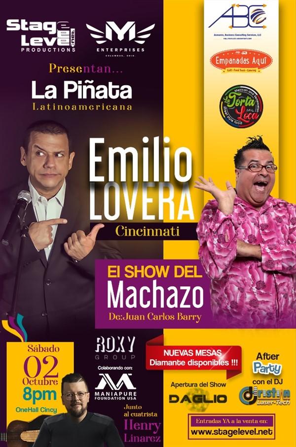 Emilio Lovera - La Piñata Latinoamérica & EL MACHAZO Juan Carlos Barry