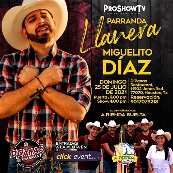 Parranda Llanera - Miguelito Diaz, A Rienda Suelta