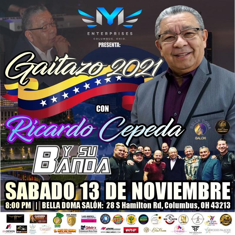Gaitazo 2021 - Ricardo Cepeda - Junto a Pentagrama - Columbus OH