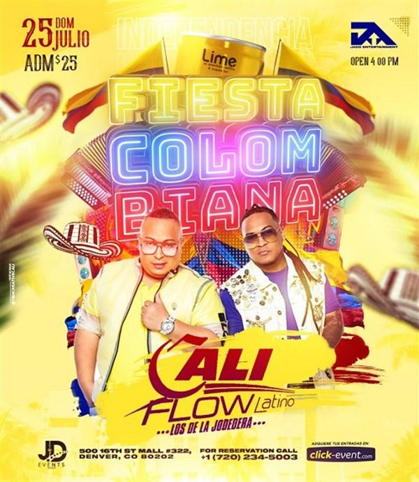 Get Information and buy tickets to Fiesta Colombiana - Invitado Proyecto V - Vallenato en Vivo - Denver CO  on www.click-event.com