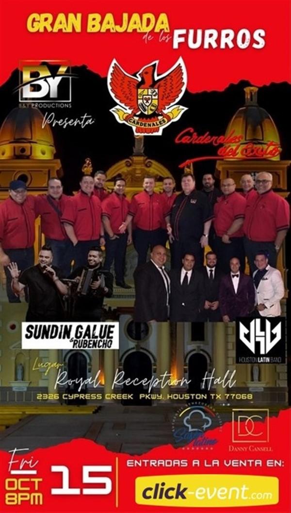 Gran Bajada de los Furros -  Los Cardenales del Èxito - Houston TX