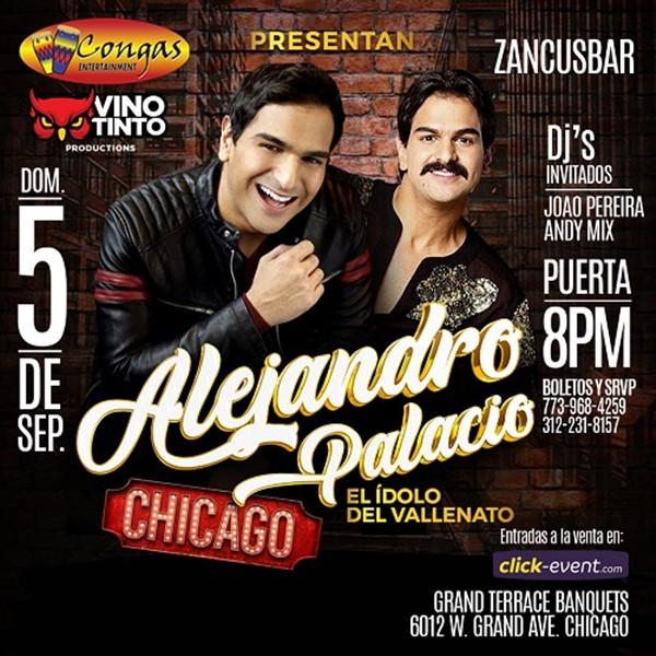 Alejandro Palacio El Idolo del Vallenato - Chicago IL