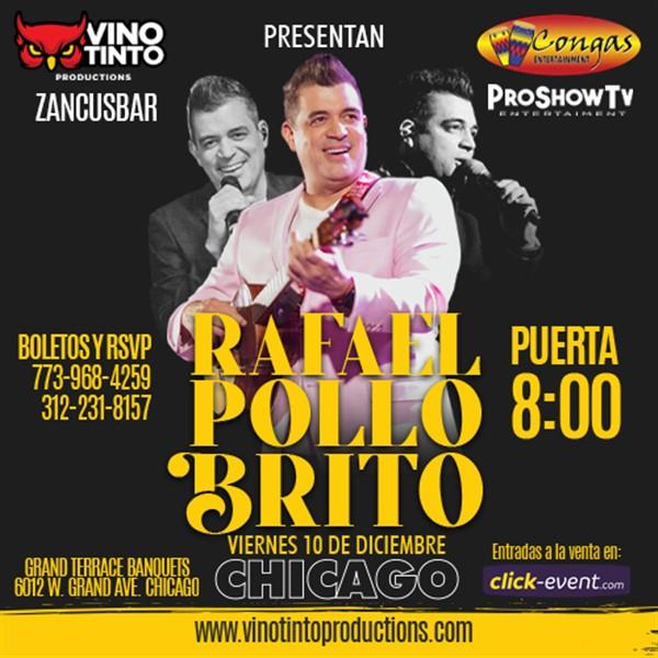 Rafael Pollo Brito en Chicago IL.