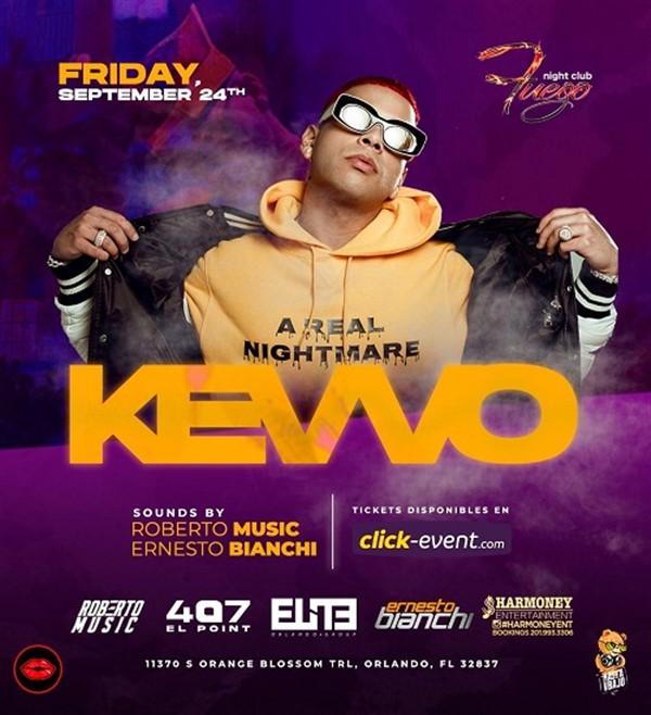 KEVVO desde Puerto Rico - Orlando FL