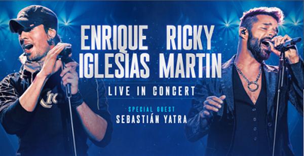 Enrique Iglesias - Riky Martin - Hosuton TX