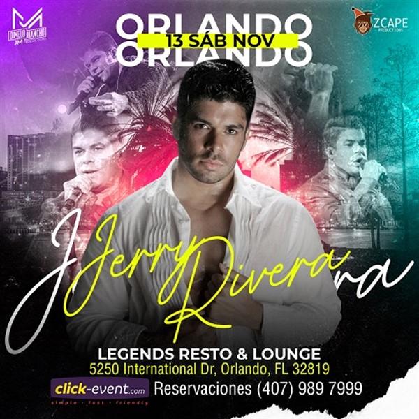 Jerry Rivera - Orlando Fl