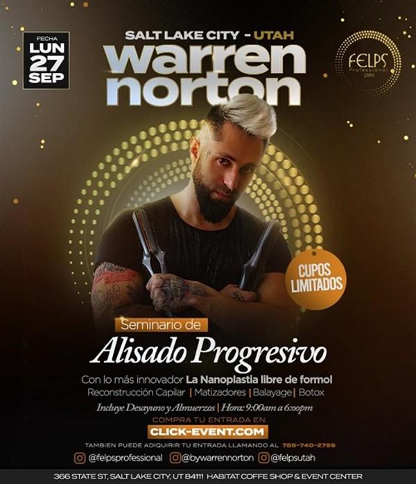 WARREN NORTON - Seminario Alisado Progresivo - Salt Lake City - Utah