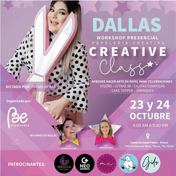 Workshop Presencial - Papeleria Creativa - CREATIVE - Dallas TX