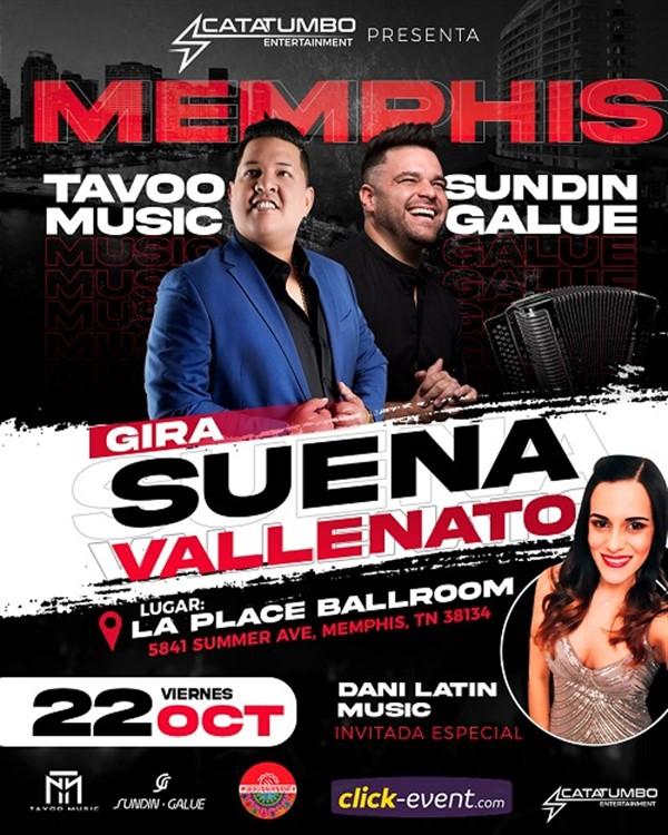Gira Suena Vallenato - MemphisTN